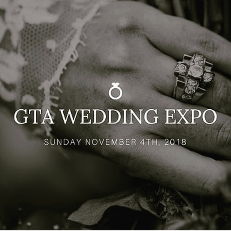 The media logo for the GTA Wedding Expo 2018