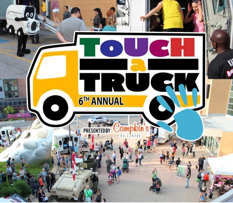 Media Logo for the 6th annual Touch a Truck
